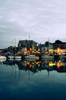 Harbor Reflection by city17