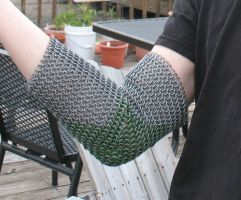 Chainmail Elbow Joint 2 by DracoLoricatus