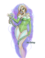 Poison Ivy by JudasArt