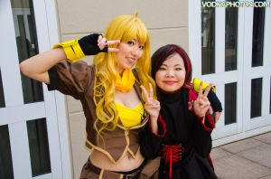 Peace with Yang and Ruby by firecloak