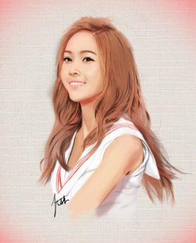 SNSD Jessica by x0imaginazn0x