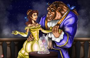 Beauty And The Beast by WiL-Woods