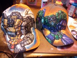 New Transformer hats by BigRob1031