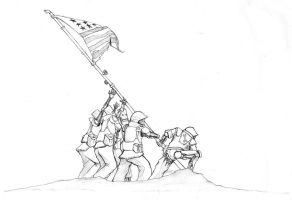 Iwo Jima by biomonkz