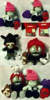 PJ and Owen Plushie (Maggot Boy) by PhoxyBoxes