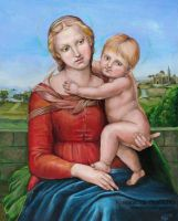 Small Cauper Madonna by IcedWingsArt