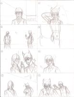 This resembles a storyboard by GlassMan-RV