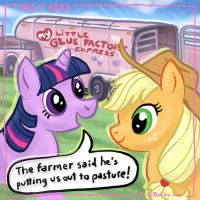Age of Nerd - My Little Pony:  Out to Pasture by RockyDavies