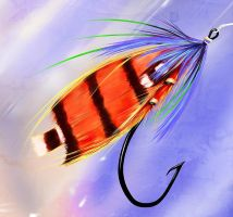 salmonfly by blurymind