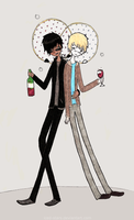 good omens fanart by Iced-Stars