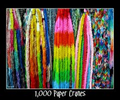 1,000 Paper Cranes by Abiona