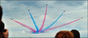 Red Arrows 5 / FAS 2012 by Somebody-Somewhere