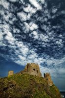 Dunluce Castle by filth666