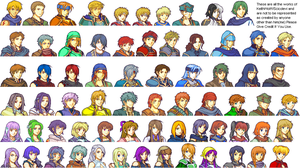 All My Fire Emblem Characters by Scicolevi