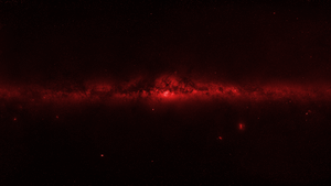 The Milky Way 6000x3375 16x9 RedShift by StArL0rd84