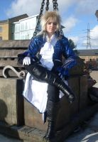 MCM expo: Jareth lounging by LabyrinthLadyLover