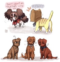 Micronation dogs by emlan
