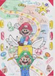 Living the Super Mario Life by SilvaLucyStar