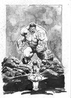 HULK n a GIRL by Kofee77
