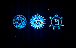 Supernatural Wallpaper by BobbysIdjit