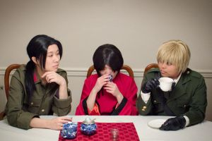 APH - Good Tea Family by Sado-Nishi