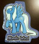 Nordic Wind badge by onnanoko