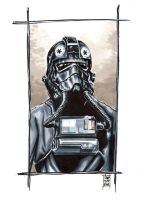 Tie Fighter Pilot commission by idirt