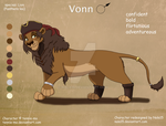 Vonn - Custom Character Design Commission by Nala15