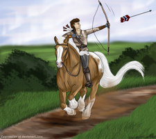 ... natural born archer ... by cyprussian