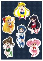 Sailormoon Charms by autome