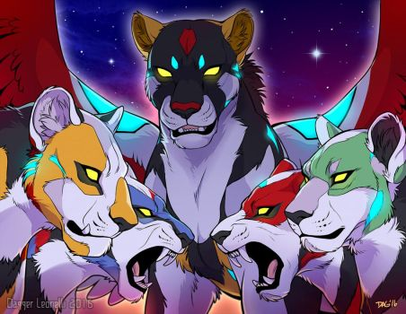 Defenders of the Universe by Majime