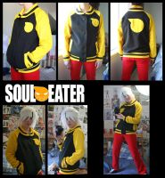 Soul Eater Jacket COMPLETE by RainOwls