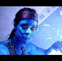 I See You - Avatar Bodypaint by MayaSildaen