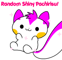 A random Pachi that is shiny. by Karrotcakes
