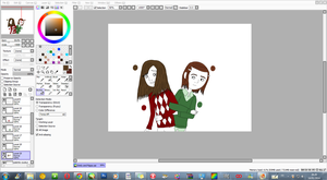 WIP - Emily and Pippa by JackFrostOverland