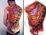 Body Painting - Phoenix 2 by Gionetti