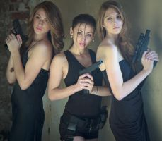 Charlie'a Angels Redux by RodneyJGPhotos