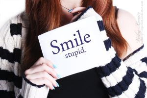 Smile, Like You Mean It. by Perfectly--Imperfect