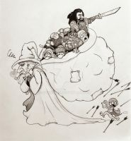 My interpretation of 'The Hobbit' by stendran