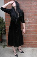 gothic lady 5 by PhoeebStock