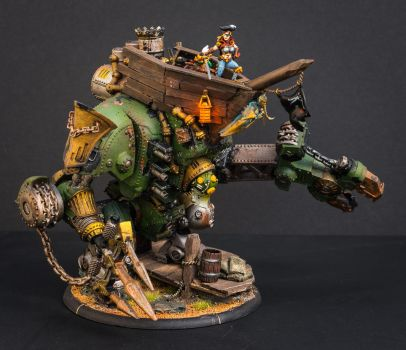 Warmachine Galleon named Shore Leave 1 by IgenSTilch