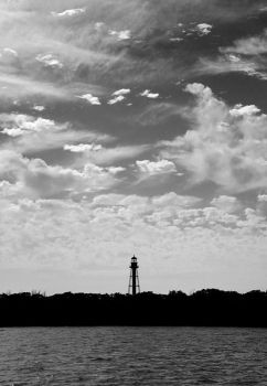 Anclote Key Lighthouse by clarson04