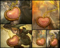 LoZ Heart Container Collage by Noviel