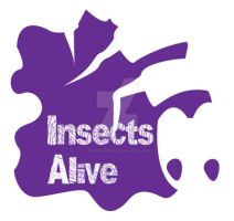 Insects Alive Hand Stamp by Dragonrose247