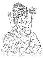 Glinda pen sketch by Anamated