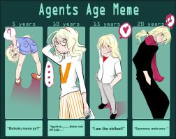 A-GENTS: AGE MEME by As9Swords