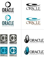 Oracle Consulting Logo Options by ApplebyDesign