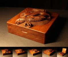 Smaug the Wooden by Thorleifr