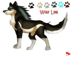 Wolf Link Reference sheet by rymae
