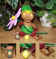 Deku Link Plush + Accessories by The-Rebexorcist